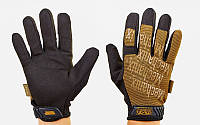 Перчатки тактические, MECHANIX 5623H. Рукавички спортивні