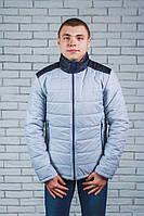 Куртка  мужская светло-серая