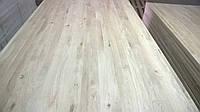 Мебельный щит (дуб) 40х1000х3000, срощенный, качество Рустик, доставка по Украине