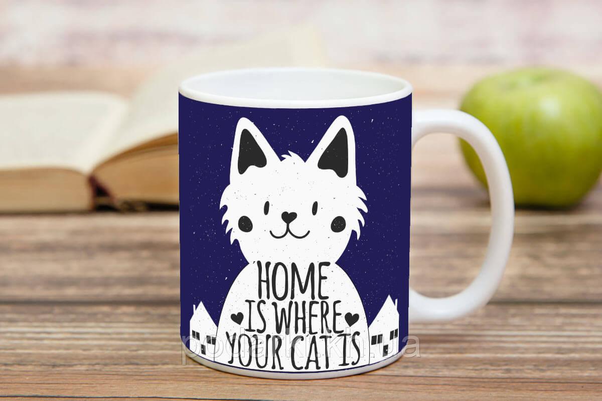 Чашка для тех, у кого есть кот