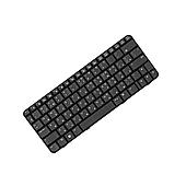 Клавиатура HP Compaq CQ20 2230, черная