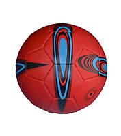 Мяч футбольный красный клубный FT9-6. М'яч футбольний