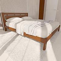 Кровать деревянная двуспальная Грация 160*200(190)