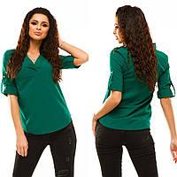 Блуза женская в расцветках 17236, фото 1