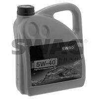 Синтетическое моторное масло SWAG 5W40 4л. ( MB 229.3 , VW 502 00/505 00 , BMW LL-98 , Opel LL-B 025 )