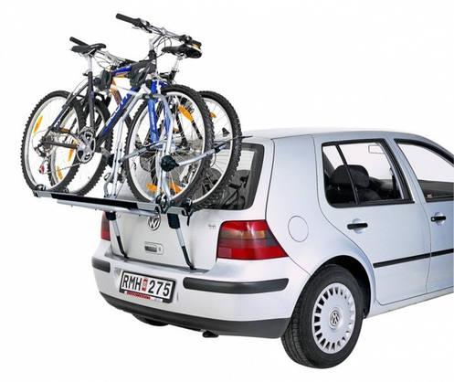 Крепление Thule ClipOn High 9105-9106 для 2 велосипедов  на заднюю дверь , фото 2