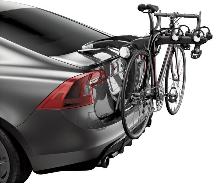 Крепление Thule RaceWay 992 для 3 велосипедов  на заднюю дверь