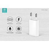 Сетевое зарядное устройство Devia Smart USB 1A White