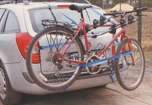 Крепление Amos Weekend для 3 велосипедов на заднюю дверь, фото 3