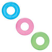 Детский надувной круг Bestway 36022 прозрачный, 51см, 3 цвета