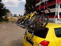 Крепление Peruzzo Padova 3 на крышку багажника для 3 велосипедов