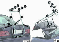 Крепление Peruzzo Milano Grey на крышку багажника для 3 велосипедов