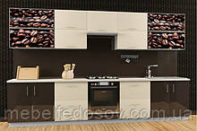 Кухня Hihg Gloss / Хьюго Глос (Меблі стар) шоколад+ваніль М/П