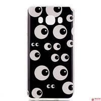 Полимерный Чехол Для Samsung Galaxy J7 J710(Глаза)
