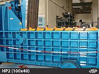 Пресс-подборщик для металлолома Aymas HP2 (100x40)