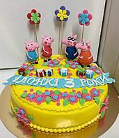 Детский торт на заказ Свинка Пеппа