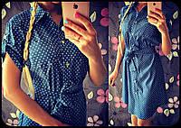 Платье- рубашка джинсовое. Платья. Магазин одежда. Одежда интернет. Женская одежда.