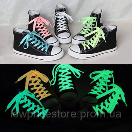 Флуоресцентные (светящиеся) шнурки - Интернет магазин Low-price Store в Николаеве