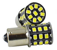 Светодиодные лампы LED P21W (33-SMD)(12V)(2835)(Белый)