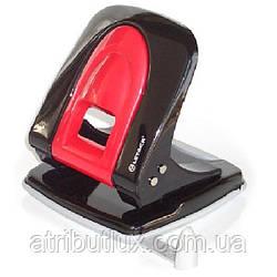 Дырокол MP335 40 л., линейка-фиксатор