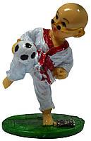 Статуэтка монах футболист в ассортименте 80х90х80