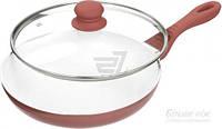 Сковорода с крышкой Lessner Eco Ceramic Line 24 см