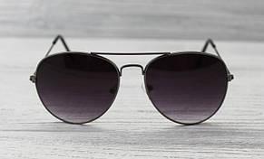 Женские фигурные солнцезащитные очки с тонкими дужками, фото 2
