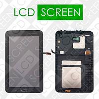 Модуль для планшета Samsung Galaxy Tab 3 Lite 7.0 SM-T110 T110, черный, дисплей + тачскрин