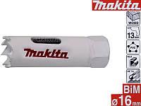 Біметалічні коронки HSS Makita 16мм