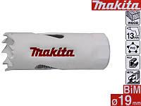 Біметалічні коронки HSS Makita 19мм