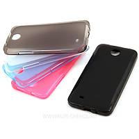 Силиконовый чехол HTC One 801e (M7) Black