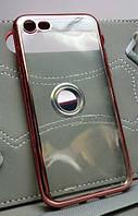 Чехол силиконовый Air Series Fashion для Apple iPhone 7 / 8  красный