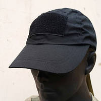 Кепка бейсболка тактическая Mil-tec черная, фото 1