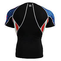 Комплект компрессионная футболка Fixgear и компрессионные штаны C2S-B37+P2L-B37, фото 3