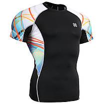 Комплект компресійна футболка Fixgear і компресійні штани C2S-B49+P2L-B49, фото 3