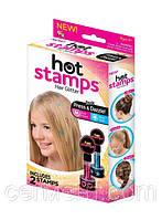 Тату детские для волос Hot Stamps, тату блестящие Хот Темпс