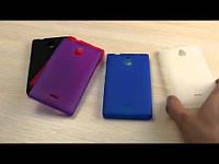 Силиконовый чехол Nokia 210 Asha Pink