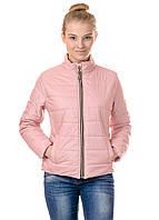 Женская демисезонная куртка Irvik FZ153 розовая