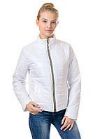 Женская демисезонная куртка Irvik FZ154 белая, фото 1