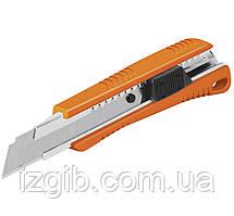 Нож, выдвижной, Пластик 3 лезвия, 150мм