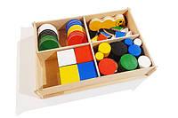 """Игровой набор из дерева для раннего развития  для детей """"Монтессорі"""""""