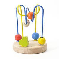 Деревянная игрушка для развития ребенка Лабиринт 4