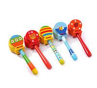 Деревянная игрушка музыкальная Кастаньеты