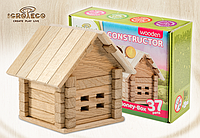 Деревянный констуктор для развития детей Сундучок