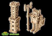 Деревянный констуктор для развития детей Башня