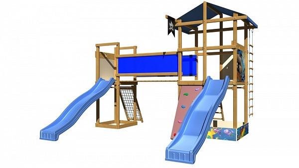 Детская спортивная  площадка Sportbaby-11
