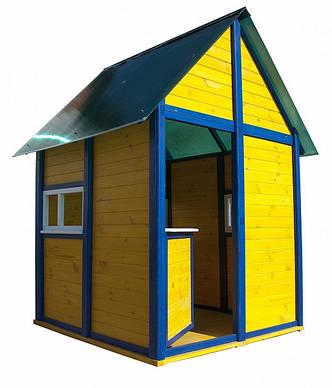 Будиночок з дерева для дітей 160 * 120 * 140 см, фото 2