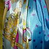 Палантин шёлк голубого цвета , фото 3