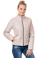 Женская демисезонная куртка Irvik FZ160 бежевая