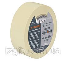 Скотч малярный, бумажный 50м х 25мм